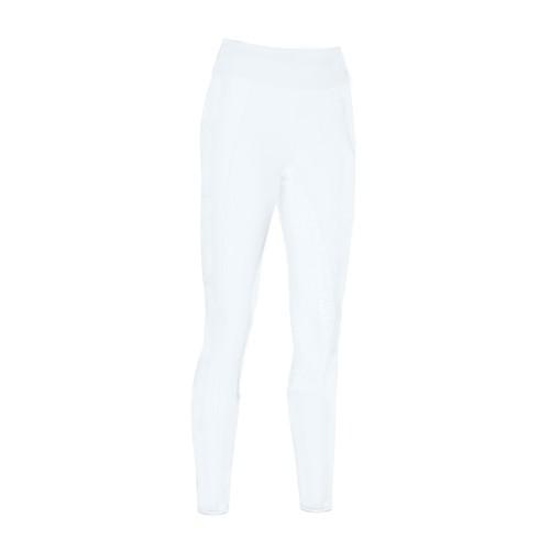 Pikeur Yara Athleisure grip white pull on breeches - White