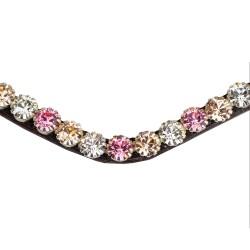 PS of Sweden Big Pink bloom Crystal browband