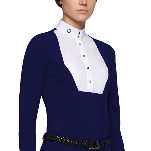 Cavalleria Toscana Women's Pentagon bib long sleeved shirt