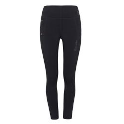 Cavallo Ladies Black lea full grip performance leggings