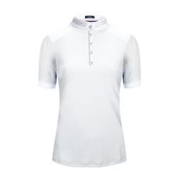 Cavallo ladies' White short-sleeved Panita shirt.