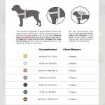 Kentucky dogwear Body Safe Grey wool Harness
