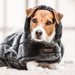 Kentucky dogwear Fake fur dog coat