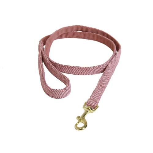 Kentucky dogwear wool collection dog lead - Light Pink