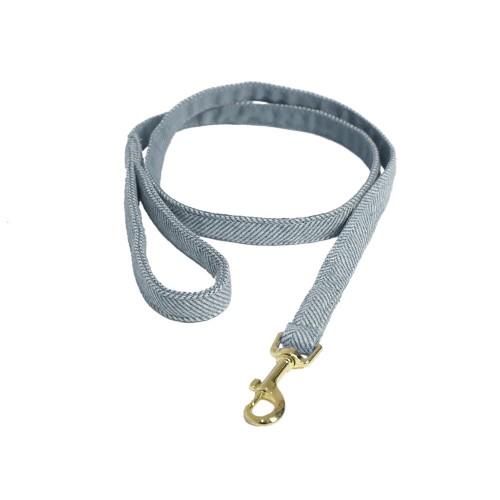 Kentucky dogwear wool collection dog lead - light Blue