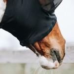 Kentucky horsewear  slim fit fly mask - Black