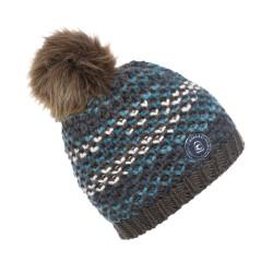 Cavallo Reiko knitted hat - Truffle mix