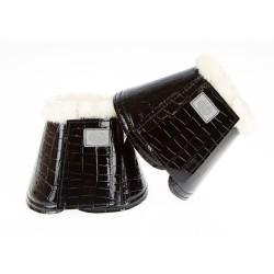 PS of Sweden Black Croc Overreach boots