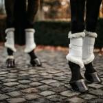 Kentucky White Air brushing boots