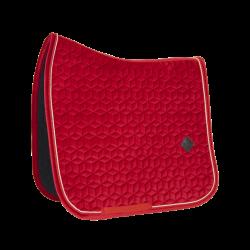 Kentucky Red Velvet dressage saddle Pad