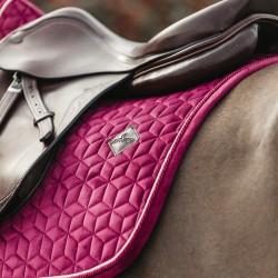 Kentucky Fuchsia Velvet dressage saddle Pad