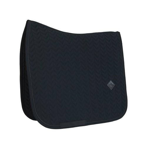 Kentucky dressage Fishbone saddle pad - Black