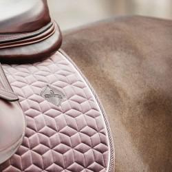 Kentucky light purple Velvet dressage saddle Pad