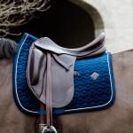 Kentucky Navy Velvet dressage saddle Pad