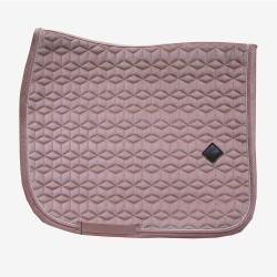 Kentucky Old rose Pink Velvet dressage saddle Pad