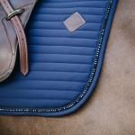 Kentucky dressage Pearls saddle pad - Navy