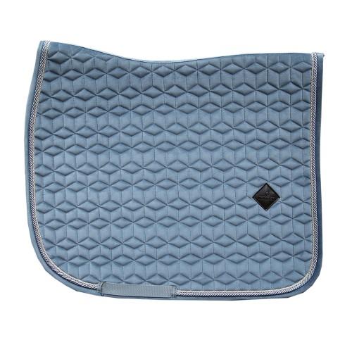 Kentucky Light Blue Velvet dressage saddle Pad