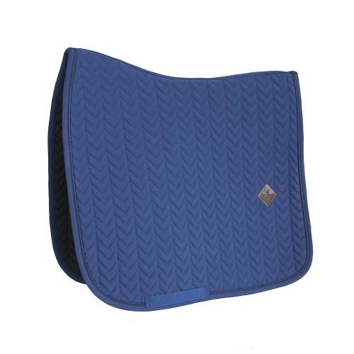 Kentucky dressage Fishbone saddle pad - Navy
