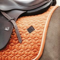 Kentucky Orange Velvet dressage saddle Pad