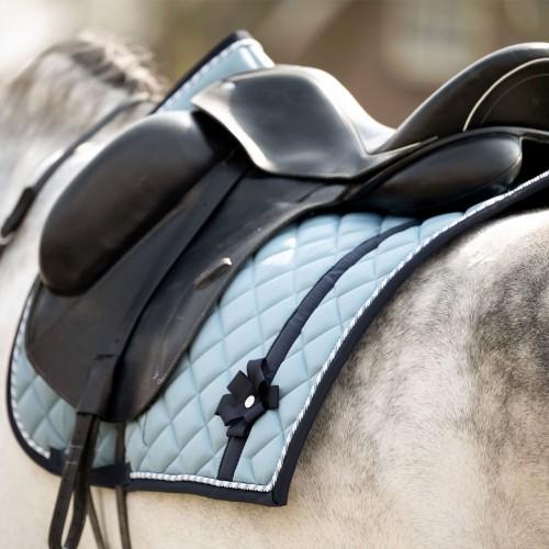 PS of Sweden Dressage Saddle pad Bow - Aqua