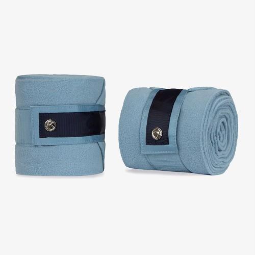 PS of Sweden Fleece Polo bandages Aqua Bow