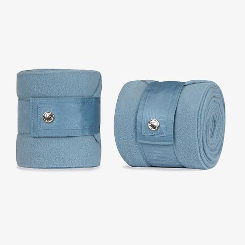 PS of Sweden Fleece Polo bandages Aqua Floret