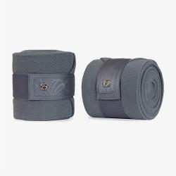 PS of Sweden Fleece Polo bandages Grey Floret