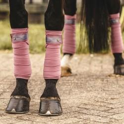 PS of Sweden Fleece Polo bandages Roseberry Bow