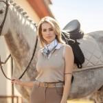 PS of sweden  Minna sleeveless polo shirt - Sand
