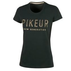 Pikeur Lene round neck t shirt - Dark Green