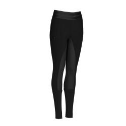 Pikeur winter softshell IDA Youths Black full grip seat leggings