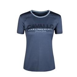 Cavallo Ladies Piper functional T-shirt - Dark blue