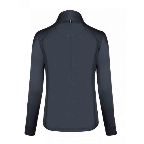 Cavallo ladies Oviedo half zip fleece - Dark Blue