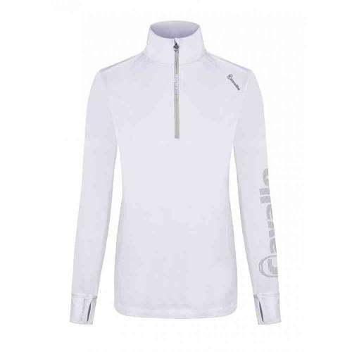 Cavallo Ladies Orfea ladies long sleeved white function training top