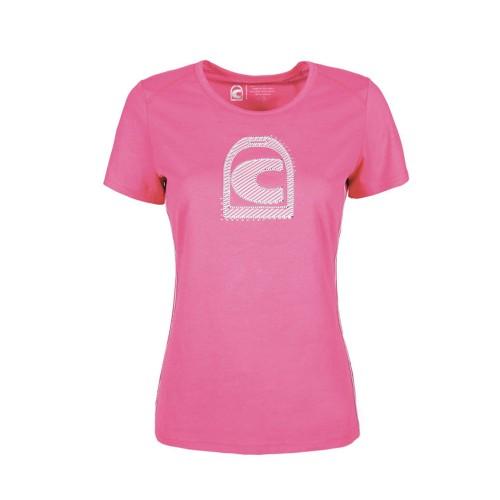 Cavallo Ladies Perina round neck T-shirt - Pinky Pink