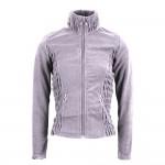 Montar Carla Grey Full zip fleece ladies top.