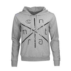 Montar Phobe light grey ladies hoodie