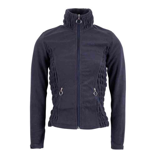 Montar Carla Navy fleece full zip jacket