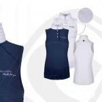 Cavallo Nele Navy Ladies Sleeveless Show Shirt