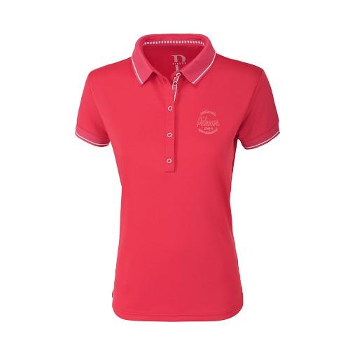 Pikeur Dasha Wild Berry short sleeved function shirt