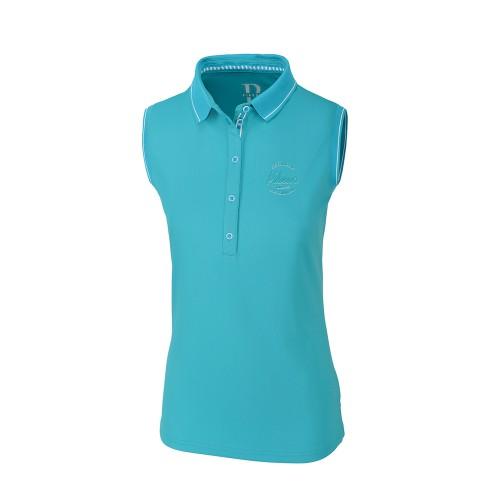Pikeur Jarla Caribbean sea sleeveless function shirt