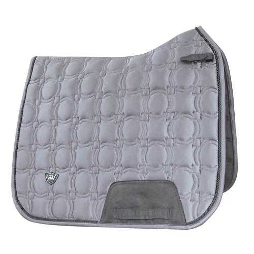 Woof Wear Brushed Steel Dressage Saddle Pad - Vision Range