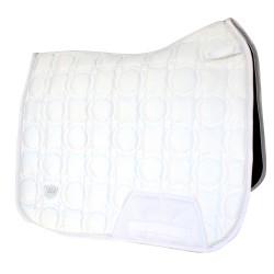 Woof Wear White Dressage saddle pad - Vision Range