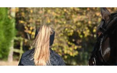 Autumn equestrian clothing