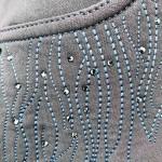 Montar Layla Navy stone flame Ladies grip seat riding Breeches