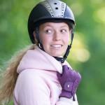 Roeckl Lona women's riding Gloves - Grape Wine