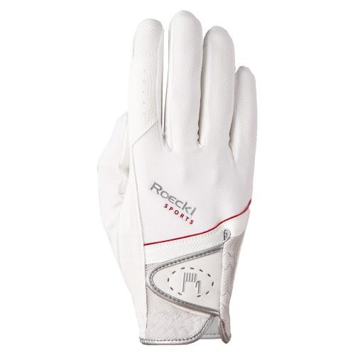Roeckl White Madrid Gloves