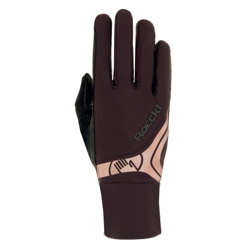 Roeckl Melbourne horseriding Gloves - Mocha