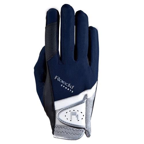 Roeckl Navy Madrid Gloves