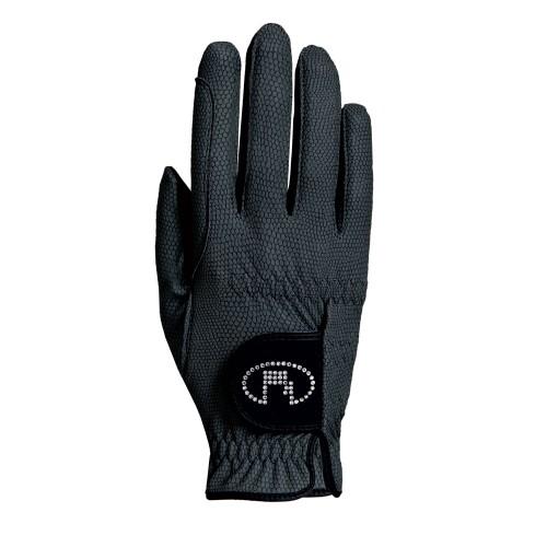 Roeckl Black Lisboa Riding Gloves